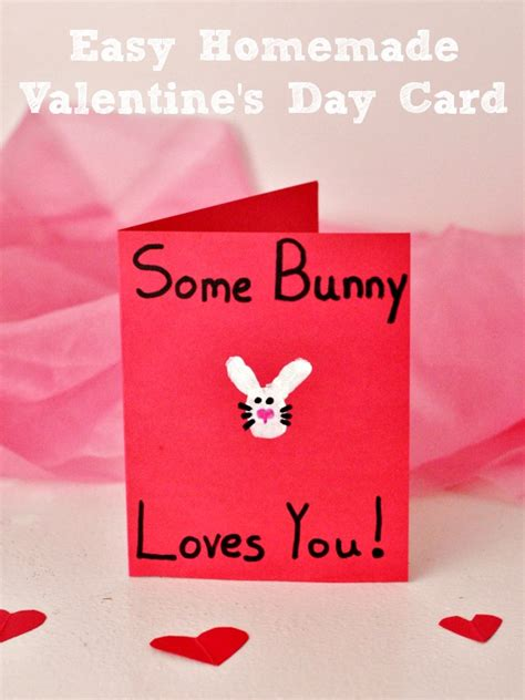 easy to make s day cards easy some bunny you s day card