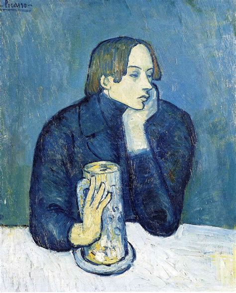 picasso paintings images blue period anjas theme of the week picasso week 2 the blue period