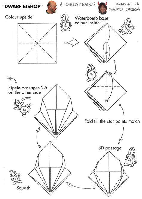 origami banger origami bishop by carlo mugnai