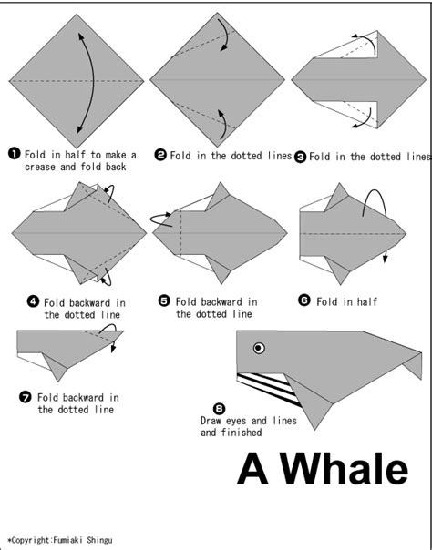 how to make an origami whale whale easy origami for