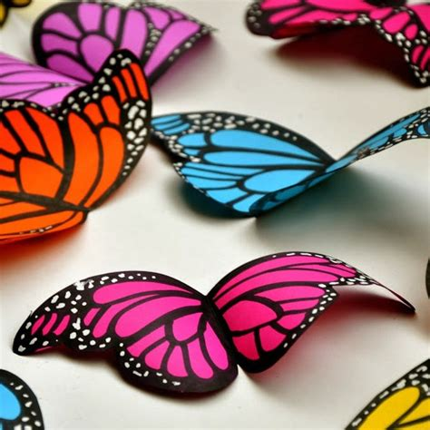 paper butterflies craft diy paper butterflies craft by photo