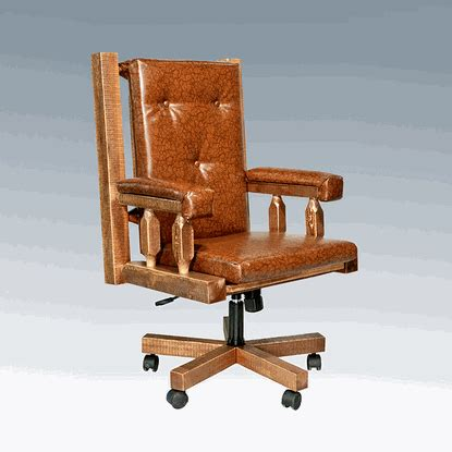 amish woodworks amish quot homestead quot pine office chair