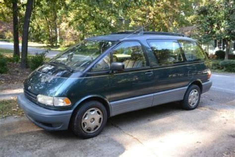 how to sell used cars 1995 toyota previa spare parts catalogs sell used 1995 toyota previa s c mini passenger van 3 door 2 4l in central south carolina