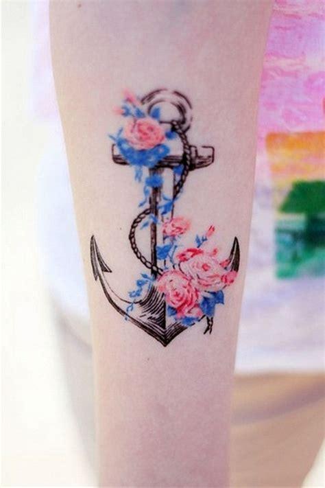 anchor tattoos ideas for girls cool tattoos bonbaden