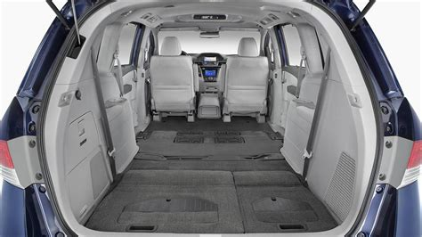 Minivan Cargo Space by 2017 Honda Odyssey Cargo Capacity And Seating Configurations