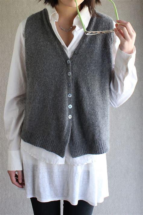 knit vest pattern 25 best ideas about knit vest pattern on knit
