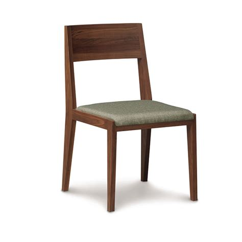 walnut dining room chairs copeland kyoto walnut dining chair vermont woods studios