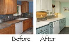 spray painting kitchen cabinets before and after 1000 images about kitchen on laminate