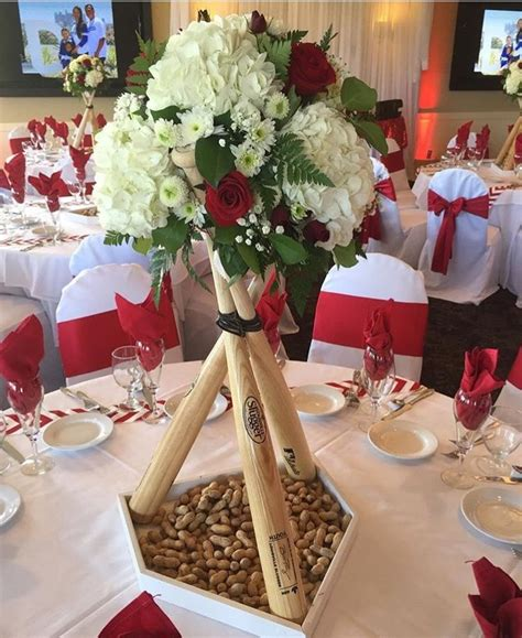baseball centerpieces for tables best 20 baseball centerpieces ideas on