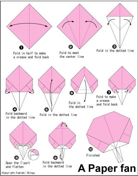 origami fan origami paper fan greta s origami ideas board
