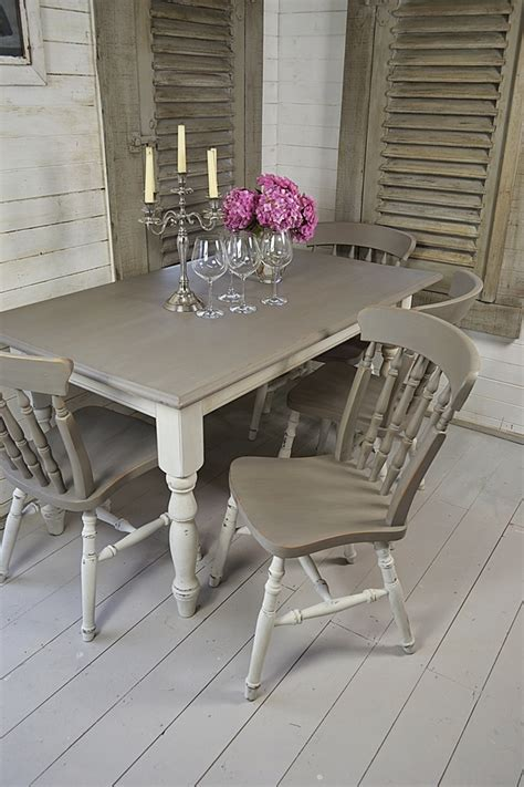shabby chic tables and chairs amazing of shabby chic dining table and chairs shab