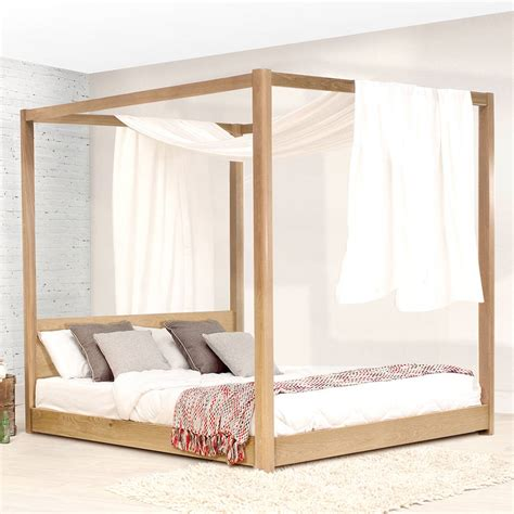 4 poster bed frames low wooden four poster bed frame by get laid beds