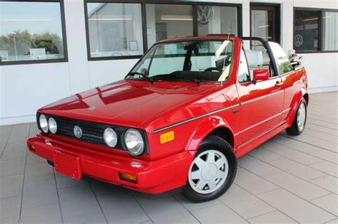 Volkswagen Cabriolet Convertible by 1988 Volkswagen Cabriolet Karmann Convertible 2 Door 1 8l