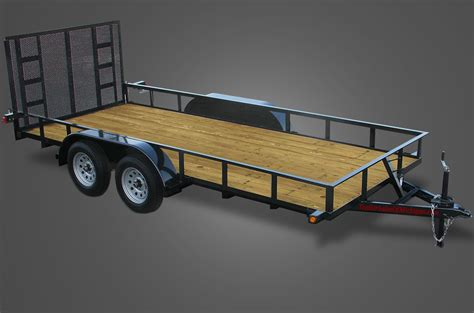 landscape lighting exles tandem axle utility trailers by trailer sales of michigan