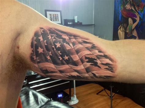 american flag tattoo cool tattoos pinterest dads