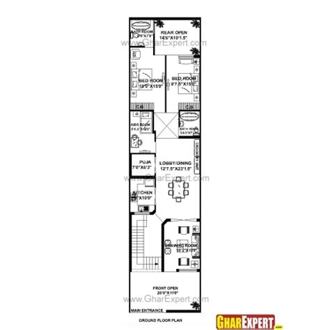 house design 15 by 60 fascinating house plan 30 x 60 design ideas plans east