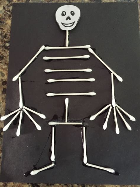skeleton craft for q tip skeleton craft all network