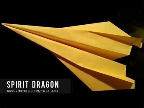 origami stunt plane how to make the best stunt paper airplane spirit