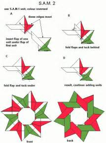 how to make a origami wreath 264 best images about origami estrellas on