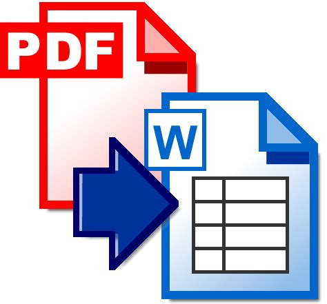 pdf to word extract tables from pdf to word pdf documents to word
