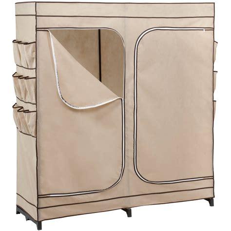 honey can do door storage closet shoe door honey can do 60 quot 2 door closet storage with