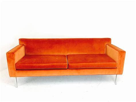 orange leather sofa sale crboger orange sofa for sale orange leather and