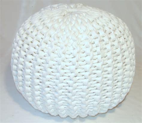 knitted ottoman pouf pattern pouf pattern lvly
