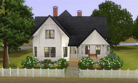 Blue Prints For A House mod the sims devore cottage