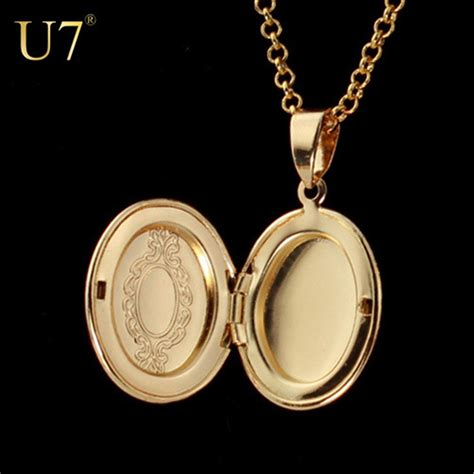 pendants for jewelry wholesale u7 european style memory photo locket charm pendants