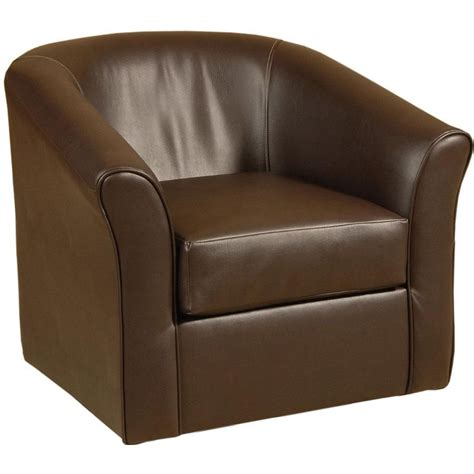 swivel upholstered chairs sanmarino 31 quot chocolate upholstered swivel chair