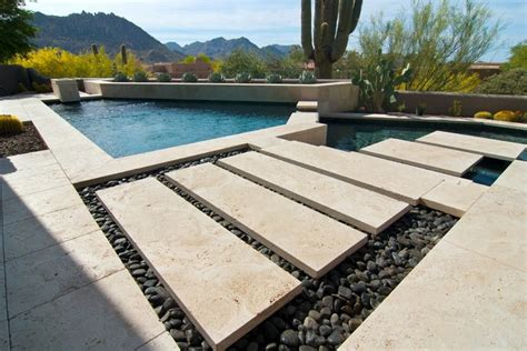 modern patio tiles arizona home modern pool and patio modern deck other