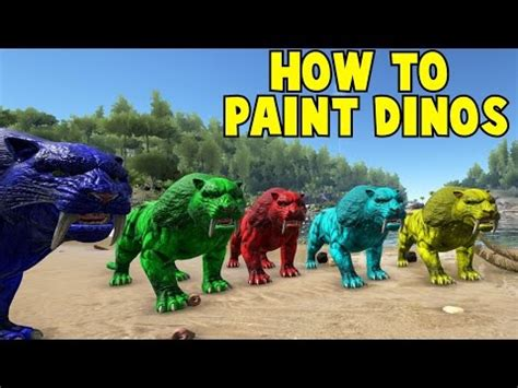 spray painter ark survival xbox one how to paint in ark gameonlineflash