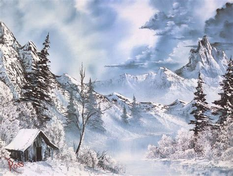 bob ross paintings winter 1000 images about bob ross on bobs winter