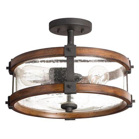 kichler lighting lights kichler lighting barrington 14 02 in semi flush mount