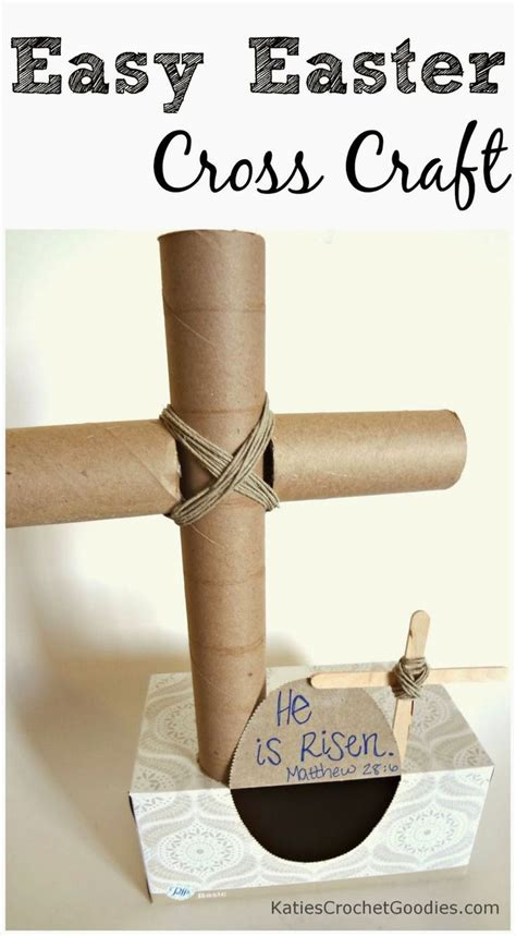 crafts with paper towel paper towel cross craft for easter bible crafts