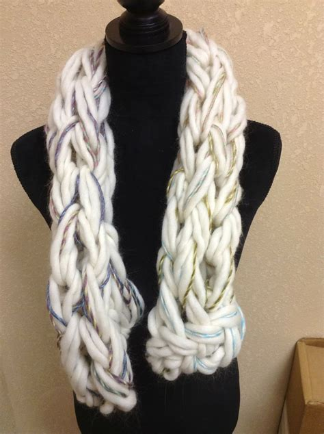 arm knitting scarf arm knitting scarves knitting and crocheting