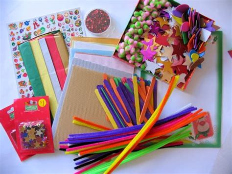 craft materials for the craft box challenge