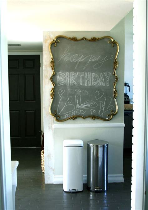diy chalk paint mirror 116 best happy walls images on ideas