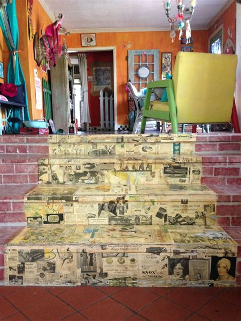 decoupage stairs 17 best images about furniture decoupage and designs on