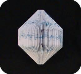 quartz origami quartz folded book make origami