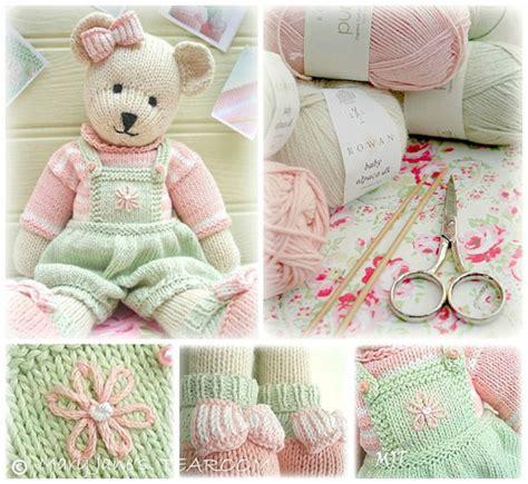 teddy knitting patterns free teddy knitting pattern pdf plus