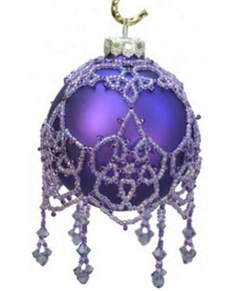 beaded ornament cover patterns free beaded ornaments free patterns pattern collections
