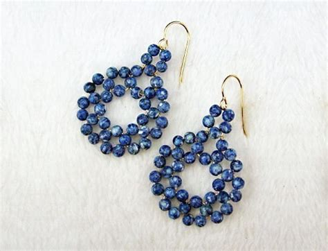 how to make bead jewelry with wire bead earrings with wire 183 a pair of hoop earrings