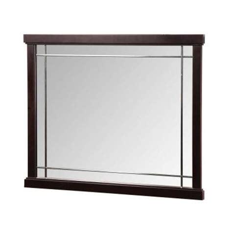 foremost zen 38 in vanity mirror in espresso zeem3831