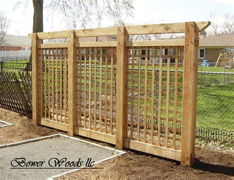 garden trellis plans garden lattice ideas bower woods llc custom garden