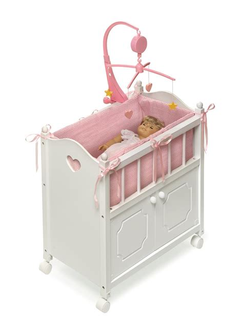 top of the line baby cribs badger basket doll crib with cabinet mobile and bedding