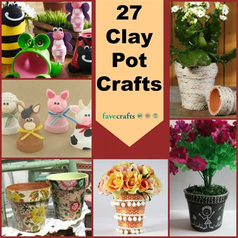 clay pot craft projects crafts clay pot