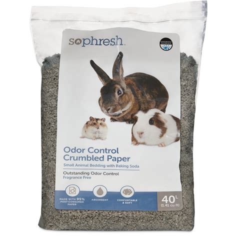 animal bedding so phresh crumbled paper small animal bedding petco