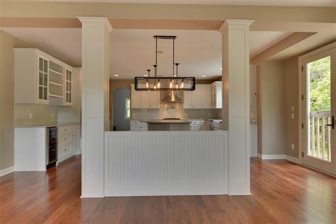 kitchen partition wall designs 21360 excelsior zehnder homes inc