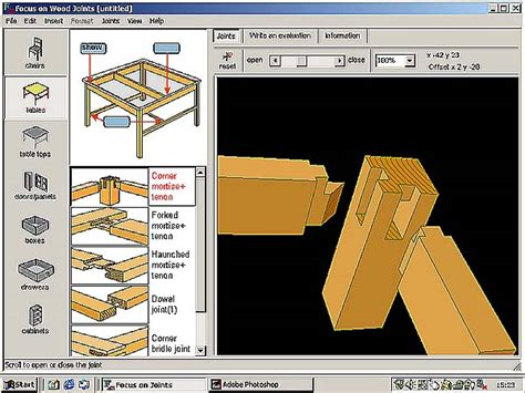 best software for woodworking design woodwork wood project design software pdf plans